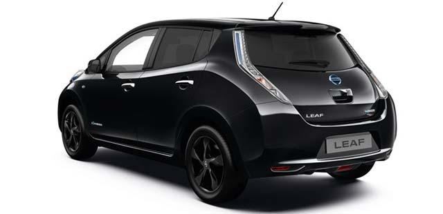 new nissan leaf black edition launched in uk. Black Bedroom Furniture Sets. Home Design Ideas