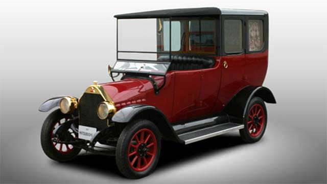 1917 mitsubishi model a being re created as plug in hybrid for West coast electric motors