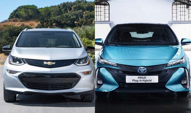 Kelley Blue Book Names Best New Electrified Cars Under 40 000 For Earth Day 2017