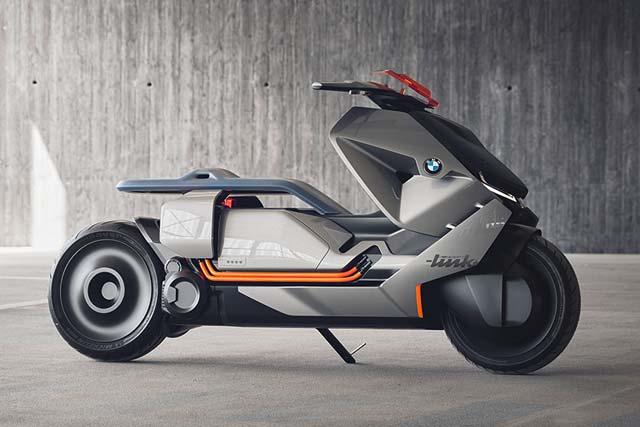 bmw motorrad unveils concept link zero emission scooter. Black Bedroom Furniture Sets. Home Design Ideas