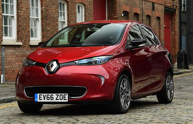 Renault Zoe Was Best Selling Plug In Model In A Record Month In Germany