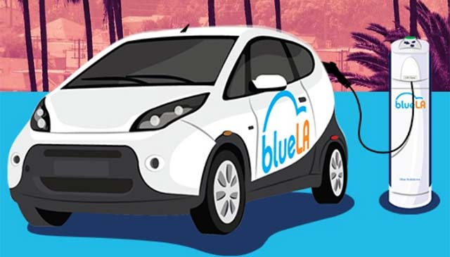 Bluela Electric Car Sharing Program