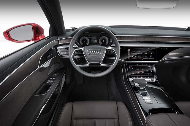 New Audi A8 Unveiled