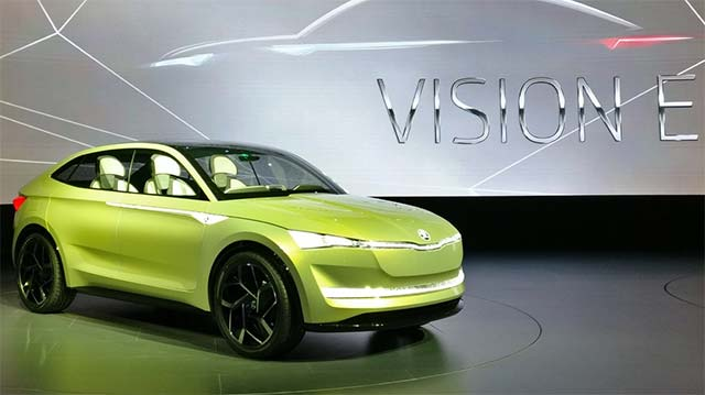 skoda will build electric vehicles in czech republic from 2020. Black Bedroom Furniture Sets. Home Design Ideas
