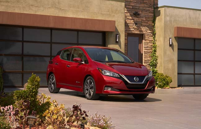 New Nissan LEAF launched in Europe