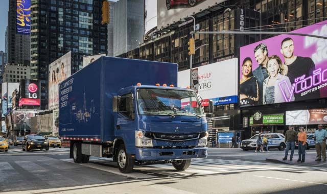 Daimler launches FUSO eCanter all-electric truck