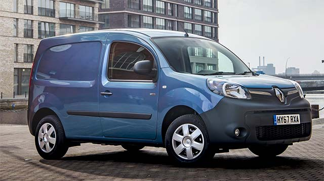 4146564ccd The Renault Kangoo Van Z.E.33 has outperformed its official range and  energy consumption figures whilst participating in the 2017 Fleet World ALD  Automotive ...
