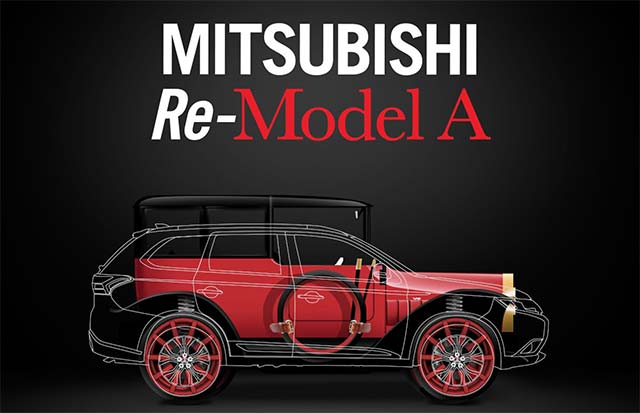 Mitsubishi Re Model A To Make Television Debut On Velocity S Inside West Coast Customs E Hike
