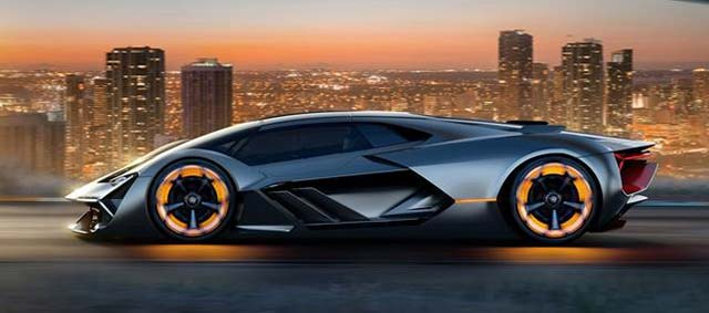 Used Car Batteries >> Lamborghini Terzo Millennio electric supercar revealed