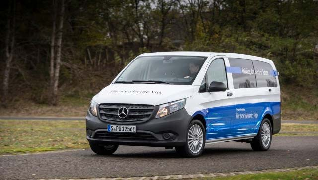 Mercedes benz to electrify its commercial van lineup all for All electric mercedes benz