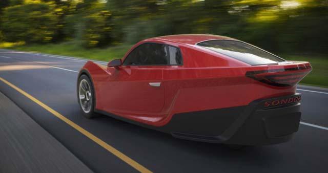 SONDORS K Wheel EV Debuts At LA Auto Show EHike - La auto show car debuts