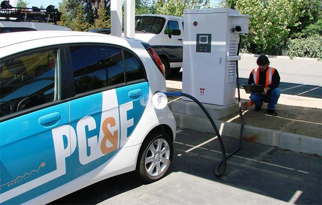 PG&E launches EV charging network with 7,500 stations | E-Hike