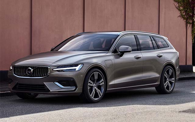 Volvo Accelerates Electrification Push With New V60 Plug In Hybrid Estate