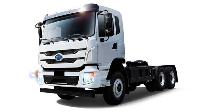 BYD to Bring First Fleet of Pure Electric Trucks to Ecuador