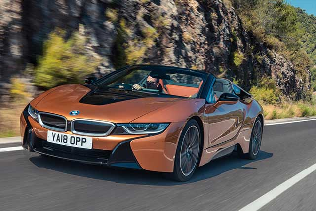 Bmw I8 Roadster Priced From 124 735 In The Uk