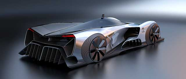 Holden Time Attack Electric Race Car Concept