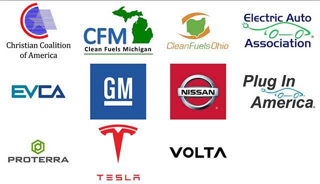 Tesla Gm Nissan And Others Form Coalition To Reform Ev