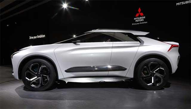 Mitsubishi signals its bold future with E-Evolution Concept at LA