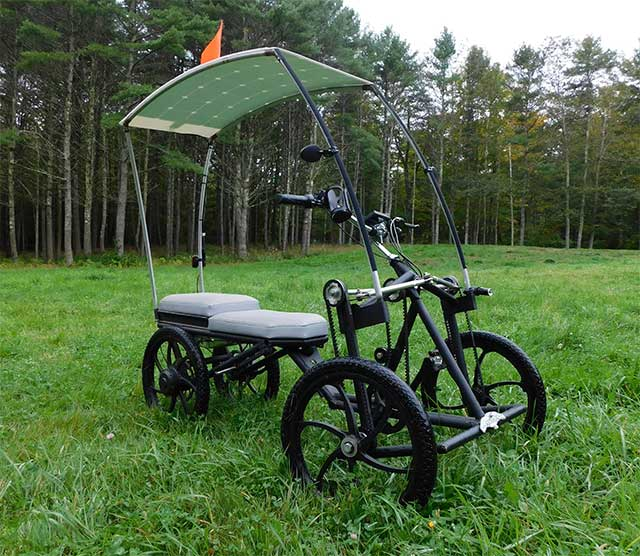 Screecher pedalcycle swoops in to the EV market with an