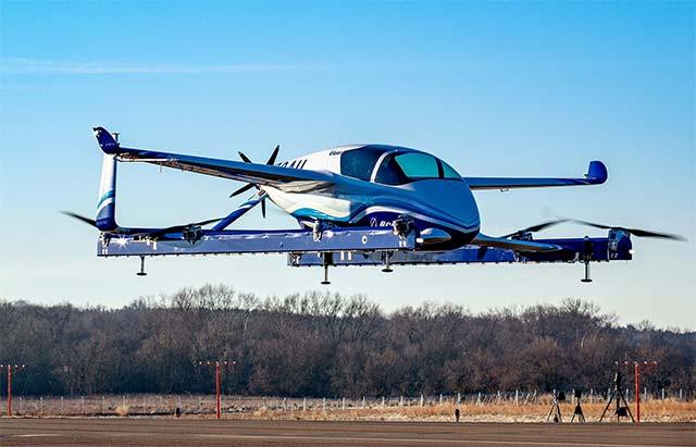 Video Boeing S Autonomous Electric Aircraft Completes
