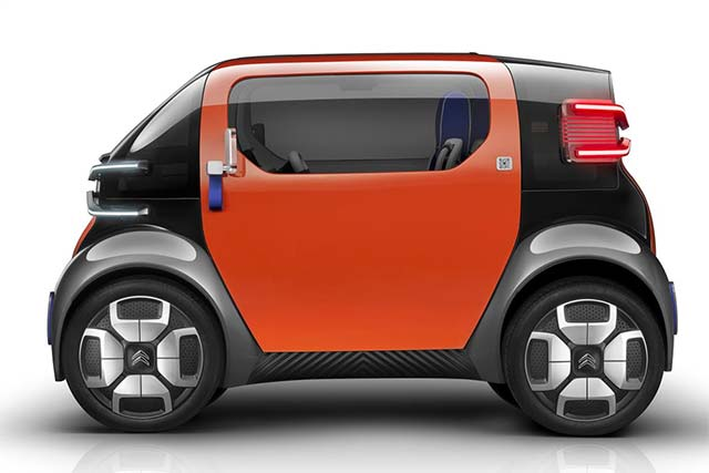 electric citroen ami one concept is the future of urban. Black Bedroom Furniture Sets. Home Design Ideas