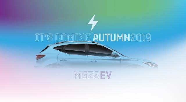 Mg Motor Uk Is Set To Launch Its Very First Battery Electric Vehicle In The This Autumn With Arrival Of Zs Suv