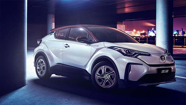 first toyota-brand electric vehicles for china revealed