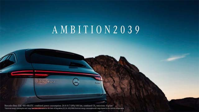 Daimler aims to have a carbon-neutral fleet by 2039; plug-ins to make more than 50% of its car sales by 2030