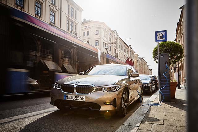 New BMW 330e plug-in hybrid launched