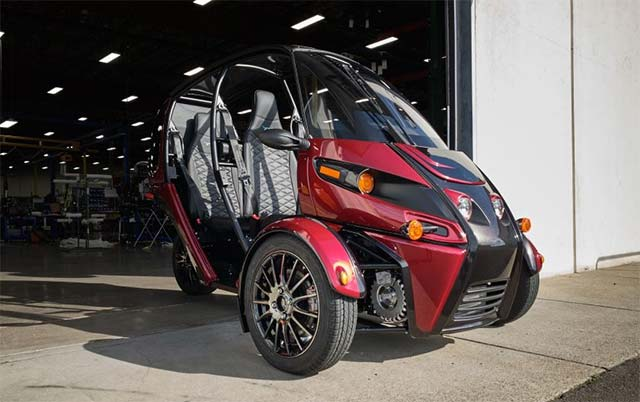 Arcimoto starts delivering its all-electric three-wheeler to customers