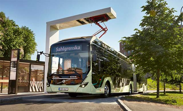 ABB and Volvo to electrify Gothenburg's city streets