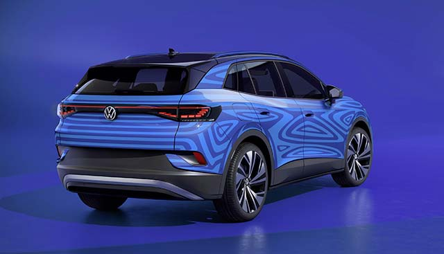volkswagen id4 electric suv will go on sale in 2021