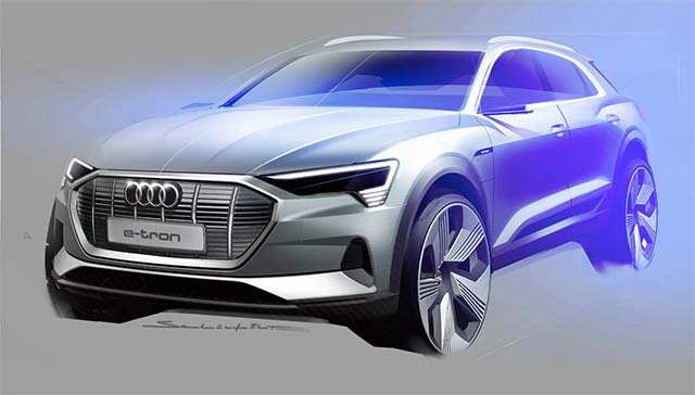 From concept to reality: designing the Audi e-tron