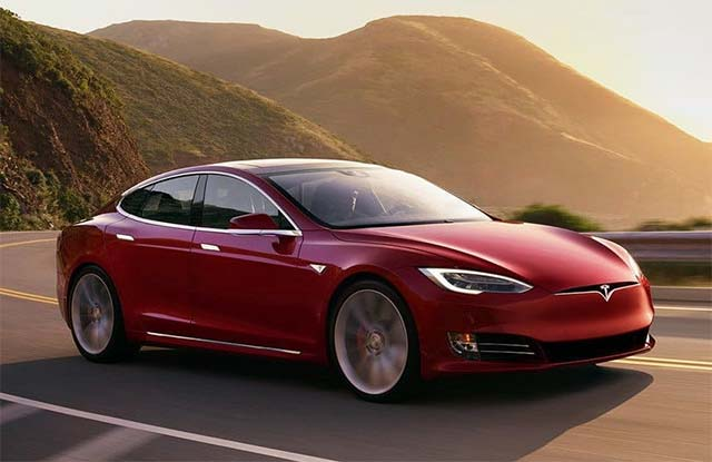 2020-Tesla Model S Long Range