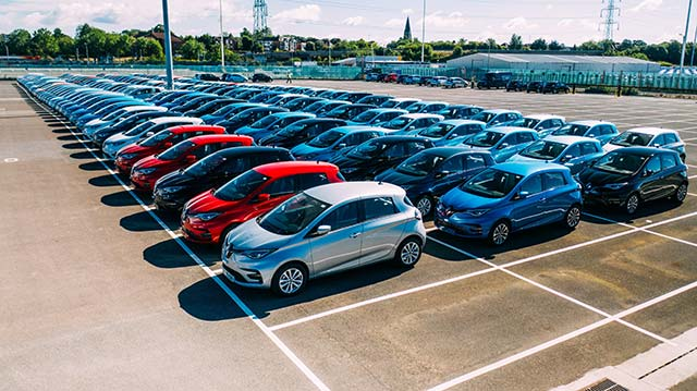 Onto orders 1,100 all-electric Renault ZOEs, biggest ever single order of ZOE in the UK