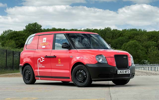 Royal Mail Trials LEVC VN5 Electric Van For Parcel And Letter Deliveries
