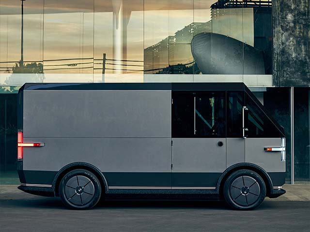 Canoo Unveils Fully Electric Multi Purpose Delivery Vehicle