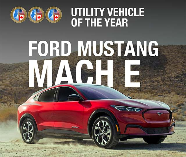 Mustang Mach-E North American Utility of the Year